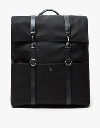 Mismo M S Backpack In Black Black Black