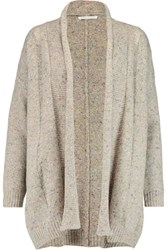 Rebecca Minkoff Sonic Merino Wool Blend Cardigan Cream