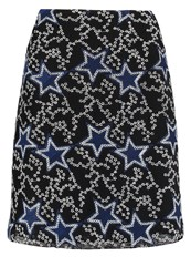 Pinko Aline Skirt Nero Blu Black