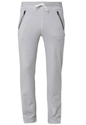 Craft Inthezone Tracksuit Bottoms Grey Melange Mottled Grey