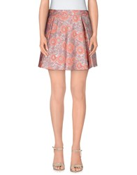 Chlotilde Skirts Mini Skirts Women Salmon Pink