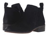 Dolce Vita Tessey Onyx Suede Women's Shoes Black