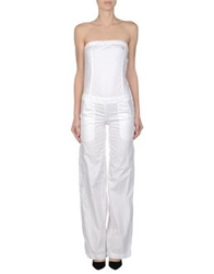 Only 4 Stylish Girls By Patrizia Pepe Pant Overalls White