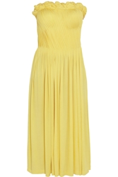Sophia Kokosalaki Arke Strapless Stretch Jersey Dress