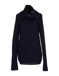 Marina Yachting Knitwear Turtlenecks Women Dark Blue