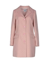 Moschino Cheap And Chic Moschino Cheapandchic Coats And Jackets Full Length Jackets Women Pink
