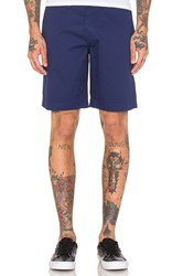 Fred Perry Classic Twill Shorts Blue