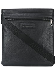 Armani Jeans Medium Messenger Bag Black