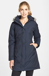 The North Face Women's 'Arctic' Down Parka With Faux Fur Trim