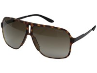 Carrera 122 S Havana Black Brown Gradient Lens Fashion Sunglasses