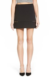 Junior Women's Soprano Zip Detail Miniskirt