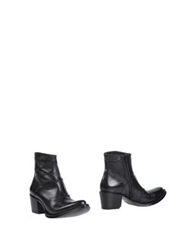 Gianni Barbato Ankle Boots Black