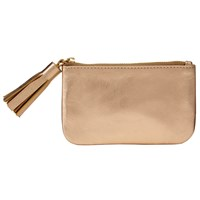 John Lewis Rosa Tassel Coin Purse Gold