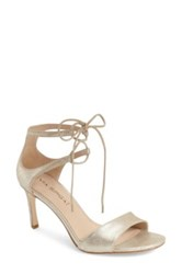 Via Spiga 'Skylar' Open Toe Dress Sandal Women Metallic