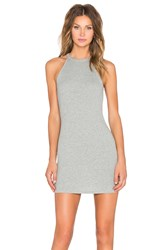 Rise I'm So Ribbed Dress Gray