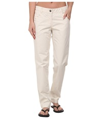 Jack Wolfskin Victoria Oc Pants White Sand Women's Casual Pants