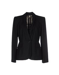 Burberry London Suits And Jackets Blazers Women Black