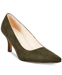 Karen Scott Clancy Pumps Only At Macy's Women's Shoes Olive