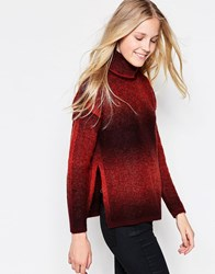 Only Akeleje Long Sleeve Roll Neck Jumper Red