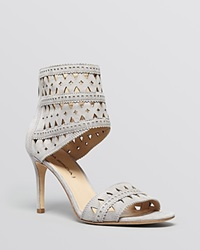 Via Spiga Open Toe Ankle Strap Platform Sandals Vanka High Heel