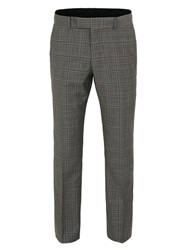 Racing Green Taupe Pow Check Trouser