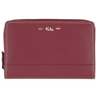 Tula Violet Leather Purse Burgundy
