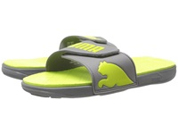 Puma Curitiba Steel Gray Lime Punch Men's Sandals