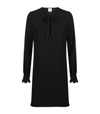 Pinko Bow Front Dress Female Black