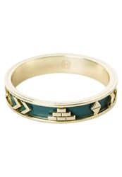 House Of Harlow Aztec Bracelet Juniper Gold