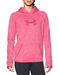 Under Armour Water Resistant Hooded Pullover Pink Sky