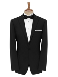 Daniel Hechter Dinner Suit Peak Lapel Jacket Black