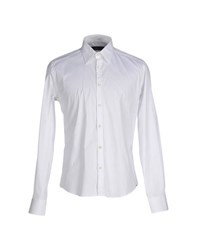 Cesare Paciotti 4Us Shirts Shirts Men White