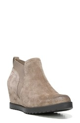 Naturalizer Women's 'Darena' Wedge Bootie Women Taupe Suede