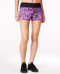 Ideology Printed Training Shorts Only At Macy's Noir