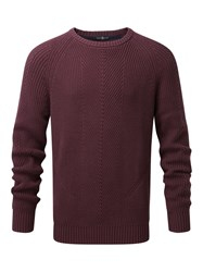 Henri Lloyd Maligar Regular Crew Neck Knit Port