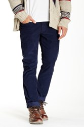 Bonobos French Corders Slim Pant 30 36' Inseam Blue