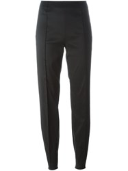 Romeo Gigli Vintage Slim Fit Trousers Black