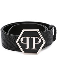 Philipp Plein 'Delhi' Belt Black