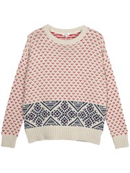 Fat Face Skye Jumper Ivory