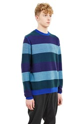 Opening Ceremony Float Rugby Pullover Ink Blue