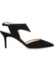 Nicholas Kirkwood Sling Back Pumps Black
