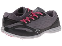 Callaway Solaire Grey Black Women's Golf Shoes Gray