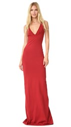 Dsquared Jersey Gown Red