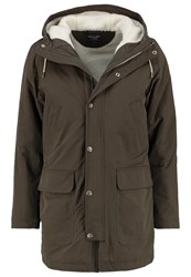 Abercrombie And Fitch Parka Olive
