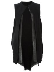 Masnada Sleeveless Jacket Black