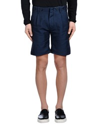 Messagerie Trousers Bermuda Shorts Men Blue