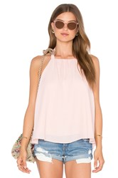 Three Eighty Two Maya Halter Top Pink
