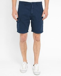 American Vintage Navy Shorts Blue