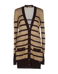 Angelo Marani Cardigans Dark Brown