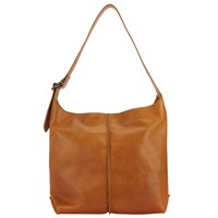 John Lewis Collection Weekend By Abigail Leather Shoulder Bag Tan